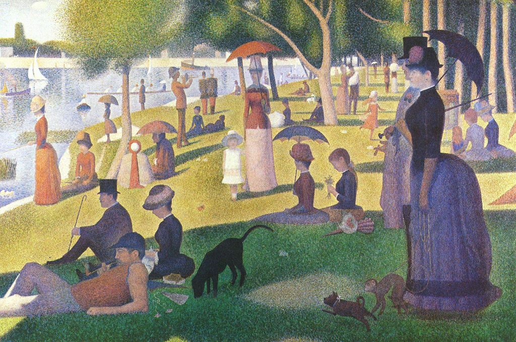 A Sunday Afternoon on the Island of the Grand Jatte